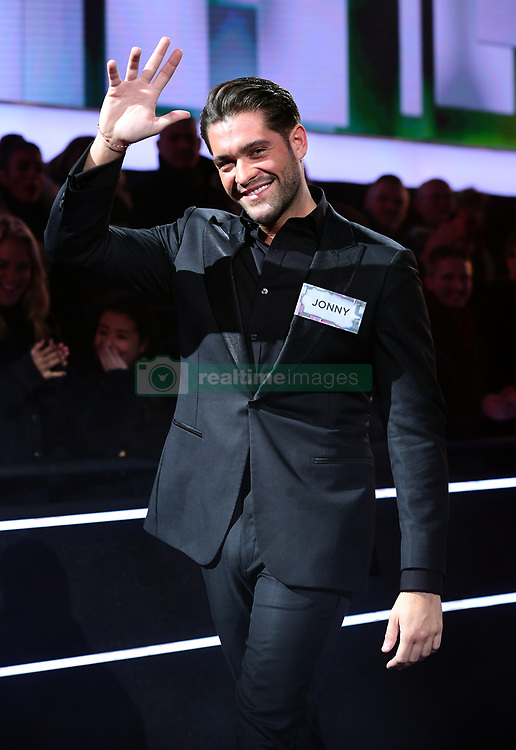 Jonny Mitchell enters the house during the Celebrity Big Brother Men's Launch held at Elstree Studios in Borehamwood, Hertfordshire. PRESS ASSOCIATION Photo. Picture date: Friday January 5, 2018. See PA story SHOWBIZ CBB Housemates. Photo credit should read: Ian West/PA Wire
