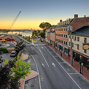 The Rosa Restaurant Building in Portsmouth, NH. Shot for the building owner's online and print marketing materials.