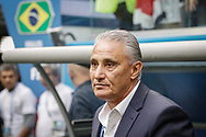 Brazil head coach Tite before the 2018 FIFA World Cup Russia, Group E football match between Brazil and Costa Rica on June 22, 2018 at Saint Petersburg Stadium in Saint Petersburg, Russia - Photo Thiago Bernardes / FramePhoto / ProSportsImages / DPPI