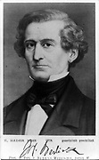Hector Berlioz ( 1803 – 1869)  French Romantic composer, best known for his compositions Symphonie fantastique and Grande messe des morts (Requiem).