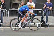 Women Road Race 129,4 km, Nadia Quagliotto (Italy) during the Road Cycling European Championships Glasgow 2018, in Glasgow City Centre and metropolitan areas Great Britain, Day 4, on August 5, 2018 - Photo Laurent lairys / ProSportsImages / DPPI