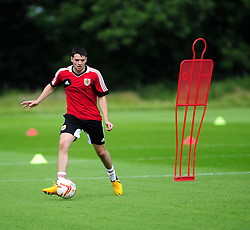Bristol City's Brendan Maloney - Photo mandatory by-line: Dougie Allward/JMP - Tel: Mobile: 07966 386802 27/06/2013 - SPORT - FOOTBALL - Bristol -  Bristol City - Pre Season Training - Npower League One