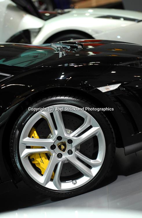 Lamborghini Gallardo .Media Preview .Melbourne International Motorshow.Melbourne Exhibition Centre.Clarendon St, Southbank, Melbourne .Friday 27th of February 2009.(C) Joel Strickland Photographics.