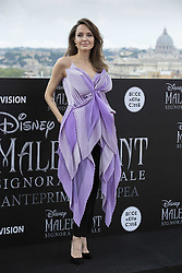 Angelina Jolie attends the photocall of the movie 'Maleficent, Mistress Of Evil' at Hotel De La Ville on October 7, 2019 in Rome, Italy. Photo by Marco Piovanotto/ABACAPRESS.COM