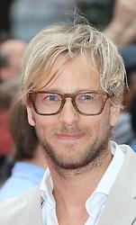 © Licensed to London News Pictures. 04/08/2014, UK.  Rick Parfitt Jnr, The Expendables 3 - World Film Premiere, Leicester Square, London UK, 04 August 2013. Photo credit : Richard Goldschmidt/Piqtured/LNP