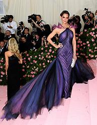 Katie Holmes attending the Metropolitan Museum of Art Costume Institute Benefit Gala 2019 in New York, USA.