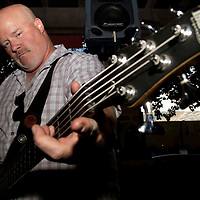 Sugar Bear performs at the Backyard Bayou in Livermore, Calif., on July 6, 2018.