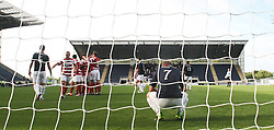 Falkirk's Jay Fulton (7) at the end of the game as the Hamilton player cele their win.<br /> Falkirk 1 v 2 Hamilton, Scottish Championship 31/8/2013.<br /> ©Michael Schofield.