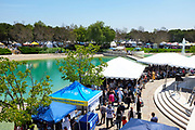 Viewing Area in Front of the Main Stage at the International Festival Event at Soka University