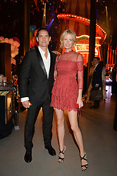 CAROLINE WINBERG and WYNTON FAURE at 'The World's First Fabulous Fund Fair' in aid of the Naked Heart Foundation hosted by Natalia Vodianova and Karlie Kloss at The Roundhouse, Chalk Farm Road, London on 24th February 2015.