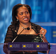 Michele Meyer-Schipp, Chief Diversity Officer accepts Corporate Equality Award for Prudential at the Human Rights Campaign New York City Gala 2013 on February 2, 2013 at the Waldorf Astoria Hotel.