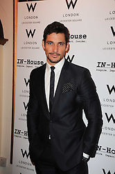 DAVID GANDY at a screening of the short film 'Away We Stay' directed by Edoardo Ponti held at The Electric Cinema, Portobello Road, London W1 on 15th November 2010.