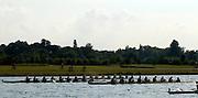 Eton,  GREAT BRITAIN.  Crews approach the finish in the semi-finals, Eton Schools' Regatta, Eton Rowing Centre, Dorney Lake. [Finish of cancelled National Schools Regatta], Saturday, 07/06/2008  [Mandatory Credit:  Karon PHILLIPS / Intersport Images] Rowing Courses, Dorney Lake, Eton. ENGLAND