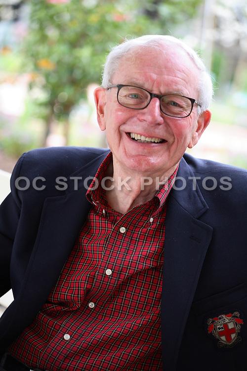Happy Active Senior Gentleman