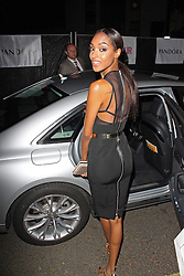 LONDON - June 04: Jourdan Dunn leaving the Glamour Awards 2013 (Photo by Brett D. Cove) /LNP © Licensed to London News Pictures.
