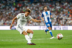 September 22, 2018 - Llorente of Real Madrid during the La Liga (Spanish Championship) football match between Real Madrid and RCD Espanyol on September 22th, 2018 at Santiago Bernabeu stadium in Madrid, Spain. (Credit Image: © AFP7 via ZUMA Wire)