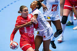 Antonina Skorobogatchenko of Russia in action during the Women's EHF Euro 2020 match between France and Russia at Jyske Bank BOXEN on december 11, 2020 in Kolding, Denmark (Photo by RHF Agency/Ronald Hoogendoorn)