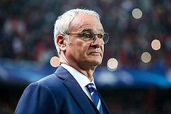 Leicester City manager Claudio Ranieri looks on - Rogan Thomson/JMP - 22/02/2017 - FOOTBALL - Estadio Ramon Sanchez Pizjuan - Seville, Spain - Sevilla FC v Leicester City - UEFA Champions League Round of 16, 1st Leg.