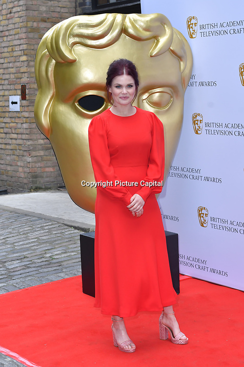 Lindsey Russell Arrivers at the British Academy Television Craft Awards on 28 April 2019, London, UK.