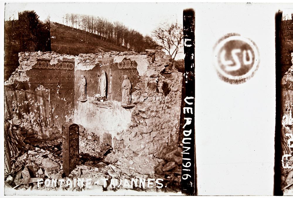 WW1 front destruction