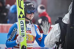 28.02.2021, Oberstdorf, GER, FIS Weltmeisterschaften Ski Nordisch, Oberstdorf 2021, Mixed Teambewerb, Skisprung HS106, im Bild Maren Lundby (NOR) // Maren Lundby (NOR) during the ski jumping HS106 mixed team competition of FIS Nordic Ski World Championships 2021 in Oberstdorf, Germany on 2021/02/28. EXPA Pictures © 2021, PhotoCredit: EXPA/ Tadeusz Mieczynski