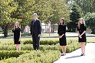 0512720 Spanish Royals attends a minute of silence for the COVID-19 victims