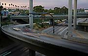 105 110 Freeway Interchange in Los Angeles