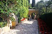 A visit to Villa Ephrussi de Rothschild, villa Île-de-France, Saint-Jean-Cap-Ferrat, French Riviera., France in 1999
