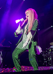 Paloma Faith performs on stage on day 1 of Standon Calling Festival on July 27, 2018 in Standon, England. Picture date: Friday 27 July, 2018. Photo credit: Katja Ogrin/ EMPICS Entertainment.