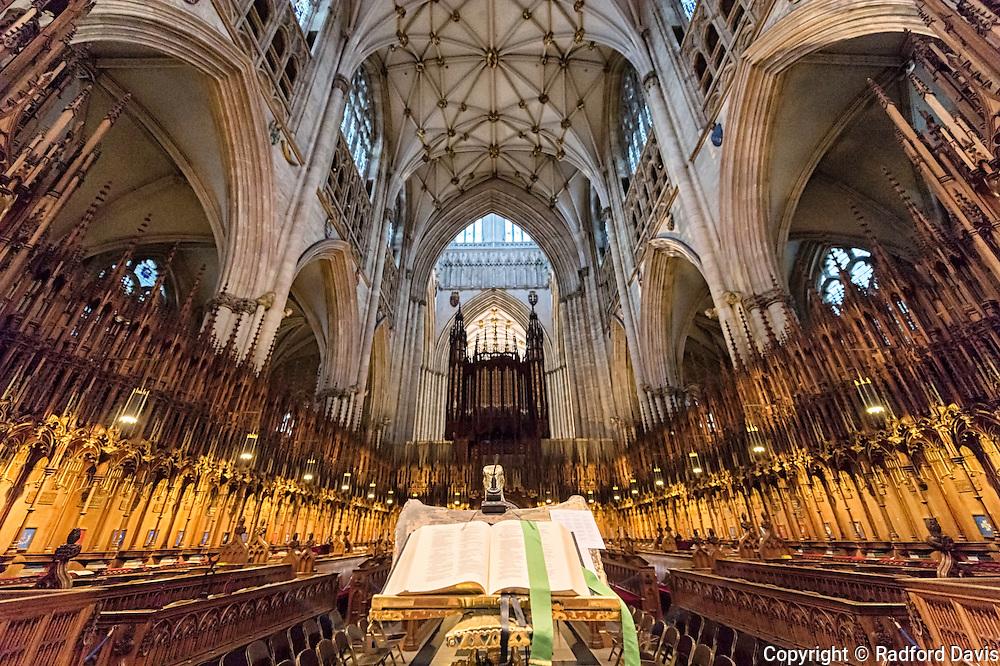 York Minster Cathedral, York, England, UK
