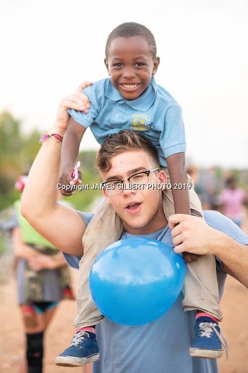 Brian De La Torre <br /> <br /> St Joe mission trip to Belize 2019. JAMES GILBERT PHOTO 2019