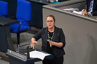 DEU, Deutschland, Germany, Berlin, 12.12.2017: Katharina Dröge (B90/Die Grünen) bei einer Rede im Deutschen Bundestag.