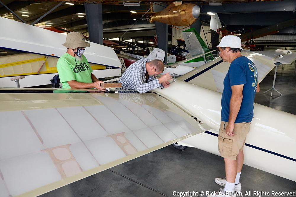 Glider being assembled at WAAAM