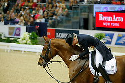 Lutkemeier Fabienne, (GER), D Agostino 5<br /> Grand Prix Freestyle<br /> Reem Acra FEI World Cup Dressage Final II<br /> © Dirk Caremans