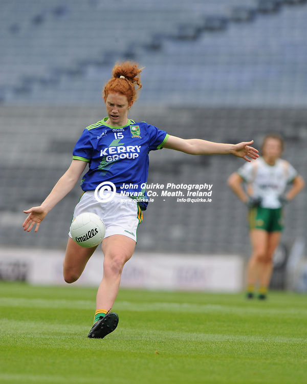 26-06-21. Meath v Kerry - Lidl Ladies National Football League Division 2 Final at Croke Park.<br /> Louise Ni Mhuircheataigh, Kerry in action against Meath.<br /> Photo: John Quirke / www.quirke.ie<br /> ©John Quirke Photography, 16 Proudstown Road, Navan. Co. Meath. (info@quirke.ie / 046-9028461 / 087-2579454).
