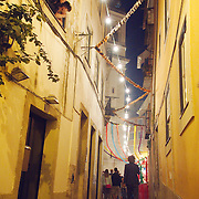 Santo Antonio festivities at Alfama that happen through the whole month of June.