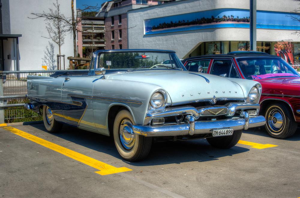 Plymouth cabriolet