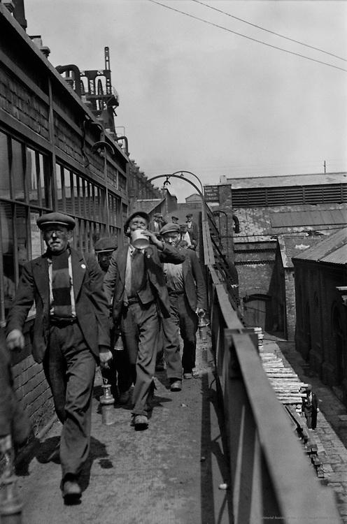 Workers, Horden Collieries, England, 1935