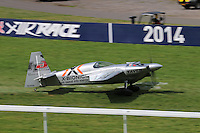 Hannes Arch; Edge 540, The Red Bull Air Race World Championships - Qualifying, Ascot Racecourse, Berkshire UK, 16 August 2014, Photo by Richard Goldschmidt