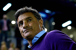 November 5, 2017 - Vila-Real, Vila-real, Spain - Michel Gonzalez head coach of Malaga CF looks on prior to the La Liga match between Villarreal CF and Malaga CF at Estadio de la Ceramica on November 5, 2017 in Vila-real, Spain  (Credit Image: © David Aliaga/NurPhoto via ZUMA Press)