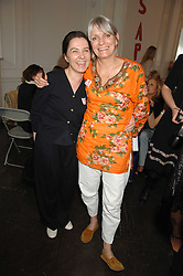 Left to right, GILLIAN McVEY and LADY ANNE LAMBTON at a lunch in aid of African Solutions To African Problems held at Il Bottaccio, 9 Grosvenor Place, London on 20th May 2008.<br /><br />NON EXCLUSIVE - WORLD RIGHTS
