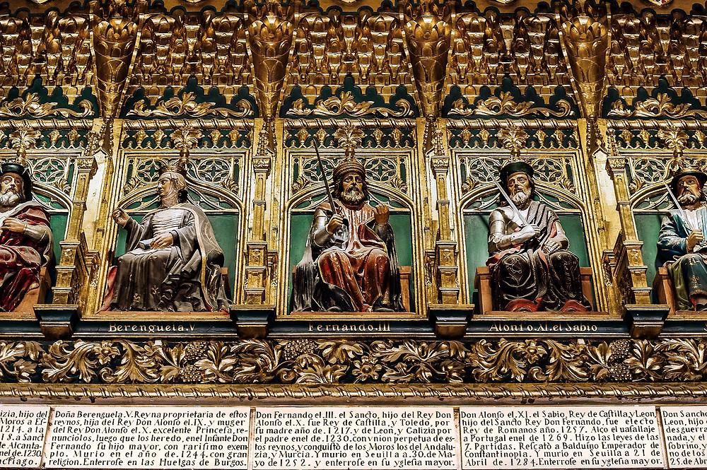 Hall of Monarchs, Alcazar, Segovia, Spain