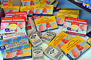 AN array of Nostalgic Irish food and domestic products from the 20th century.<br /> Picture by Don MacMonagle -macmonagle.com