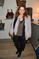 FRANCESCA VERSACE at a party hosted by Melissa Del Bono to celebrate the launch of her Meli Melo flagship store at 324 Portobello Road, London W10 on 28th November 2013.