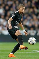 Paris Saint-Germain's Kylian Mbappe during Champions League Round of 16 1st leg match. February 14,2018. (ALTERPHOTOS/Acero)