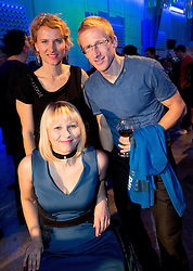 Mateja Pintar, Brigita Langerholc and Matic Osovnikar at Slovenian Sports personality of the year 2012 annual awards presented on the base of Slovenian sports reporters, on December 20, 2011 in Cankarjev dom, Ljubljana, Slovenia. (Photo By Vid Ponikvar / Sportida.com)