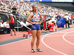 July 22, 2018 - London, United Kingdom - Zoey Clark of Great Britain and Northern Ireland after the 1 400m  Women  during the Muller Anniversary Games IAAF Diamond League Day Two at The London Stadium on July 22, 2018 in London, England. (Credit Image: © Action Foto Sport/NurPhoto via ZUMA Press)