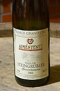 grand cru steingrubler gewurztraminer 2002 aime stentz & fils wettolsheim alsace france