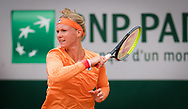 Kiki Bertens of the Netherlands in action during the second round at the Roland Garros 2020, Grand Slam tennis tournament, on September 30, 2020 at Roland Garros stadium in Paris, France - Photo Rob Prange / Spain ProSportsImages / DPPI / ProSportsImages / DPPI