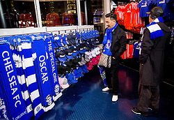 Official fans shop prior to the football match between Chelsea FC and NK Maribor, SLO in Group G of Group Stage of UEFA Champions League 2014/15, on October 21, 2014 in Stamford Bridge Stadium, London, Great Britain. Photo by Vid Ponikvar / Sportida.com